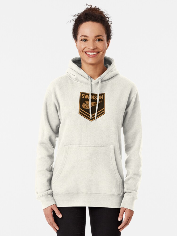 Alternate view of Parks and Recreation - Swanson Ranger Club Pullover Hoodie