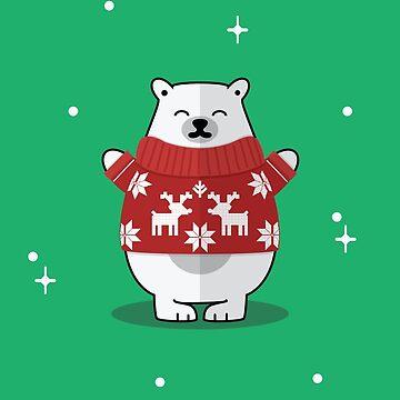 Holiday Bear by NickPaull