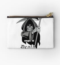Gothic coat of arms with skull, grunge.vintage design t-shirts Studio Pouch