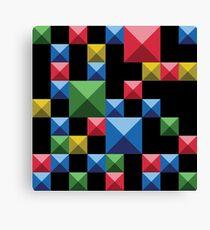 Super tetris Canvas Print