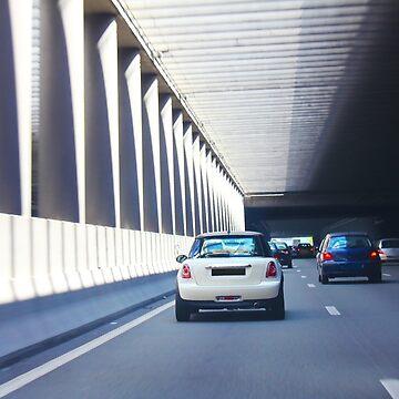 Paris - Pont de l'Alma tunnel where on 31/8/97, Princess Diana was fatally killed by BrunoBeach