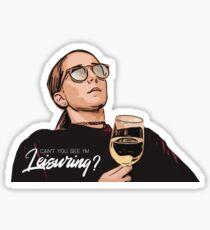 i'm leisuring Sticker