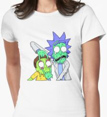 Rick and Morty  Women's Fitted T-Shirt