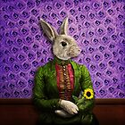 Miss Bunny Lapin in Repose by PETER GROSS