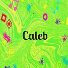 Caleb - personalize your gift in green by myfavourite8
