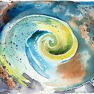 Ammonite Form by Gary Hoare