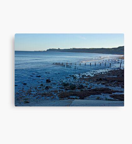 Sandsend Bay Canvas Print
