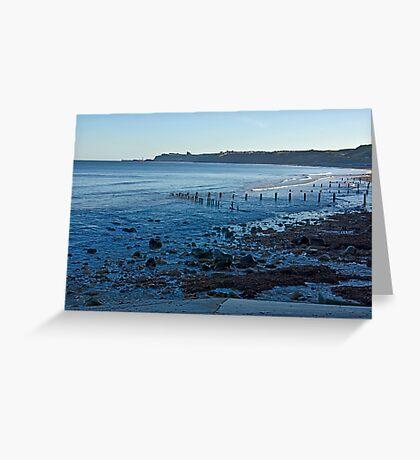 Sandsend Bay Greeting Card