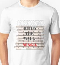 Build the Wall MAGA  Unisex T-Shirt