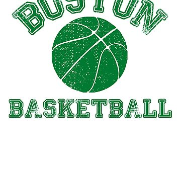Boston Distressed Pro Basketball Team Fan by maxhater