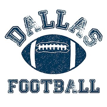 Dallas Distressed Pro Football Team Sweatshirt by maxhater