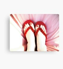 Frivolous Feet Canvas Print