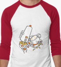 Gossip Over Tea Men's Baseball ¾ T-Shirt