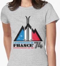 Championnats de France Women's Fitted T-Shirt