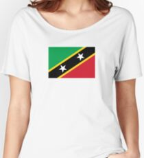 Flag of Saint Kitts and Nevis Women's Relaxed Fit T-Shirt