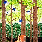 der Frühling ist gekommen (2011) Rabbit / Bunny Art von IkuyoFujita