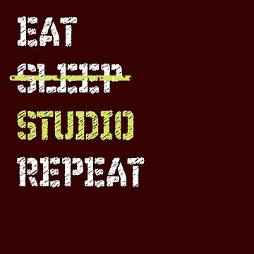 Eat Sleep Studio Repeat Architecture by triharder12