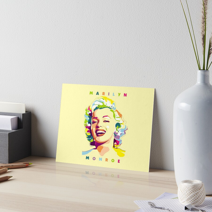 Marilyn Monroe Holywood Life Popart Vector by KevinWood