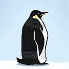 Sweater Weather Penguin by artsyrobotz