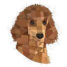 Poodle by Blacklightco