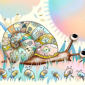 Garden Snail by karin