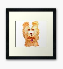 Isle of dogs - Nutmeg Framed Print
