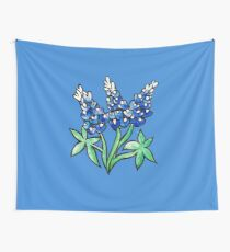 Texas Bluebonnets Wall Tapestry