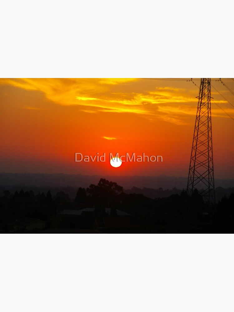 White-Hot Sun In A Blood-Red Sky by davidmcmahon
