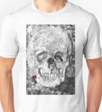 Skull With Millipedes T-Shirt