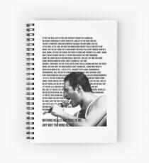Bohemian Mercury Spiral Notebook