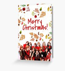 IZONE CHRISTMAS CARD Greeting Card