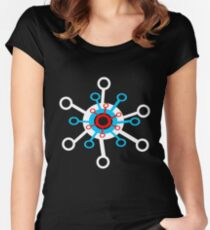 Lost in Space Tshirt Women's Fitted Scoop T-Shirt