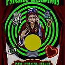 PSYCHIC READINGS : Vintage Gypsy Fortune Teller Print  by posterbobs