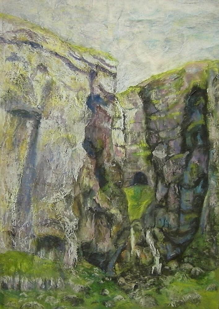 Gordale Scar 1 by Susan Duffey
