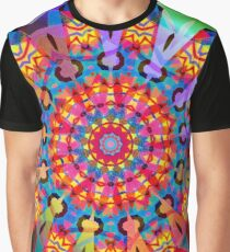 Colors and Blooms Graphic T-Shirt