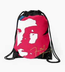 Freddie Mercury x Aladdin Sane abstract art Drawstring Bag