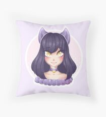 Aphmau Cute New Fanart Drawing Throw Pillow