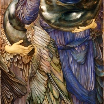"Edward Burne-Jones ""The Days of Creation - Day 2"" by ALD1"