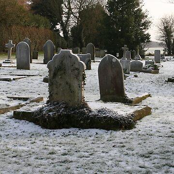Frozen Churchyard by RWTA