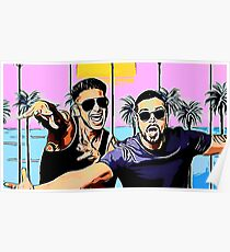 Pauly D & Keto Guido Poster
