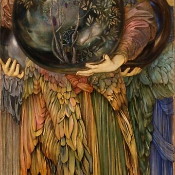 "Edward Burne-Jones ""The Days of Creation - Day 3"" by ALD1"