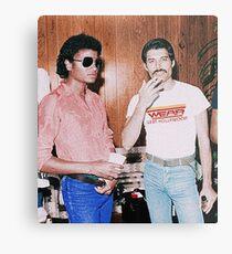 Freddie & Michael Metal Print