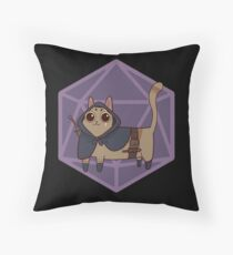 Rogue Meow Throw Pillow