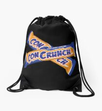 ConCrunch - More Work, Less Time Drawstring Bag