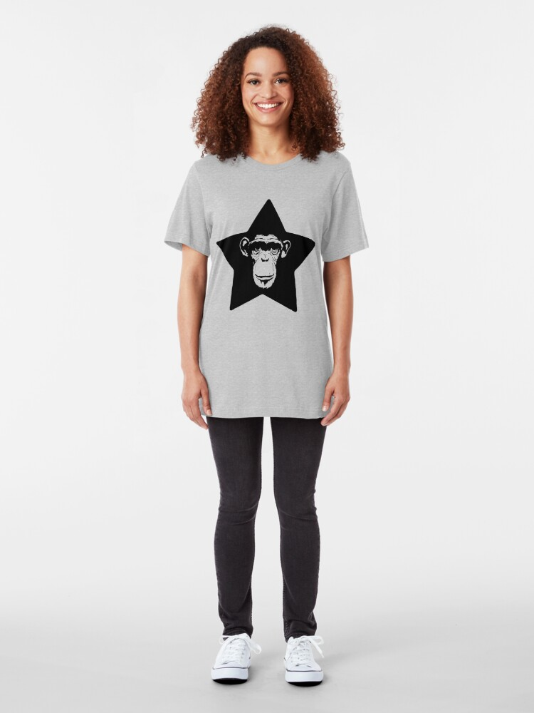 Alternate view of Monkey Superstar Slim Fit T-Shirt
