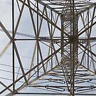 Power Lines from Below by joshsteich