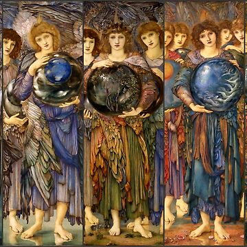 "Edward Burne-Jones ""The Days of Creation - all"" by ALD1"