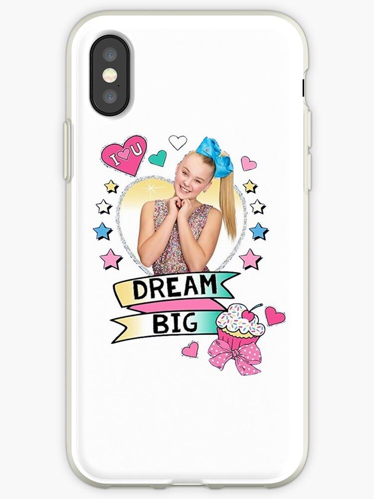 quality design e0fe4 00d00 'jojo siwa dream big' iPhone Case by hlncxiiiv