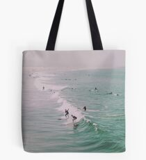 Venice Beach California Surfing Tote Bag
