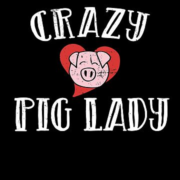 Crazy Pig lady by Boogiemonst